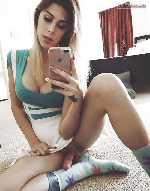 upskirt teen pokies bottomless blonde  Petite gay sissy trap selfie