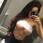 Bottomless teen nude pussy on Piaggio